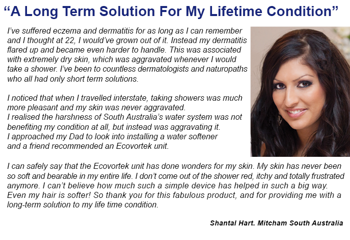 Shantal tells of her Ecovortek experience with skin disorders