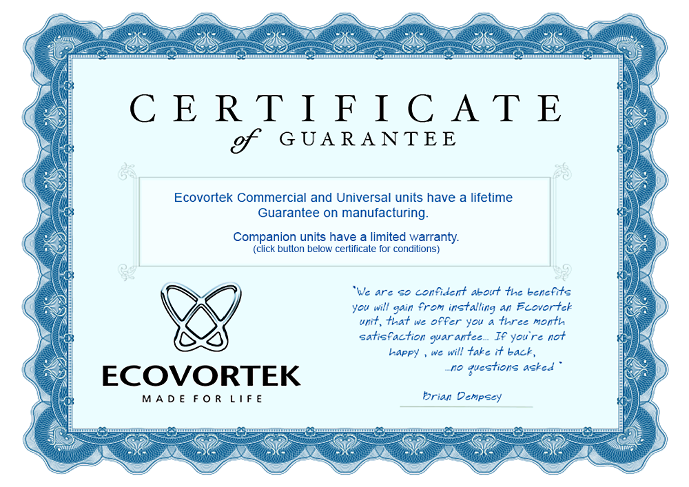 Eco-guarantee-Certificate