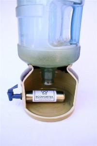 Ecovortek water dispenser unit